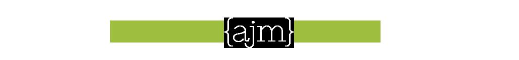 {ajm} logo